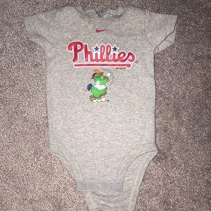 Nike Phillies onesie